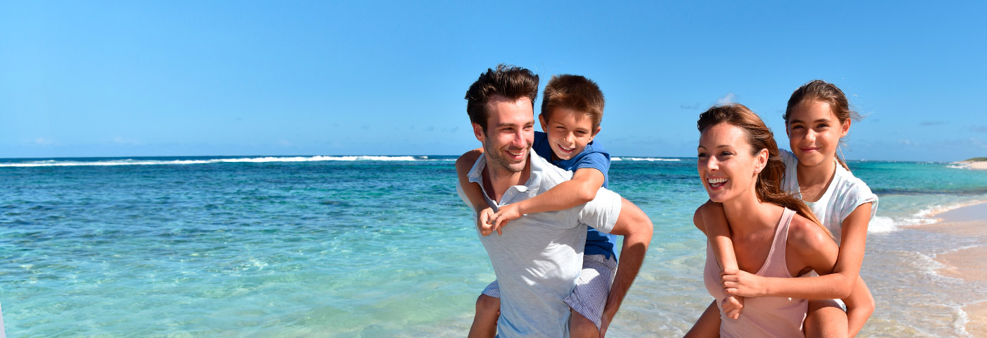 Family holidays at beach in Croatia
